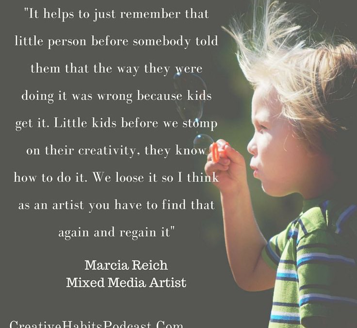 Marcia Reich Mixed Media Artist, Mental Health Therapist