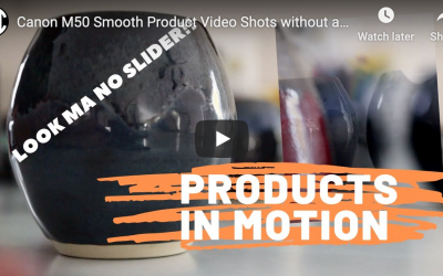 Smooth Product Video Shots without a Slider